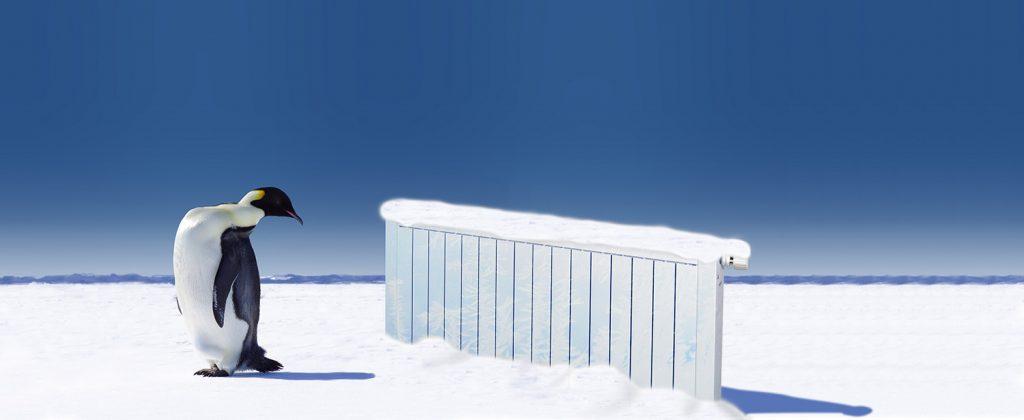 Olymp Aluminium Heizkörper zum Kühlen