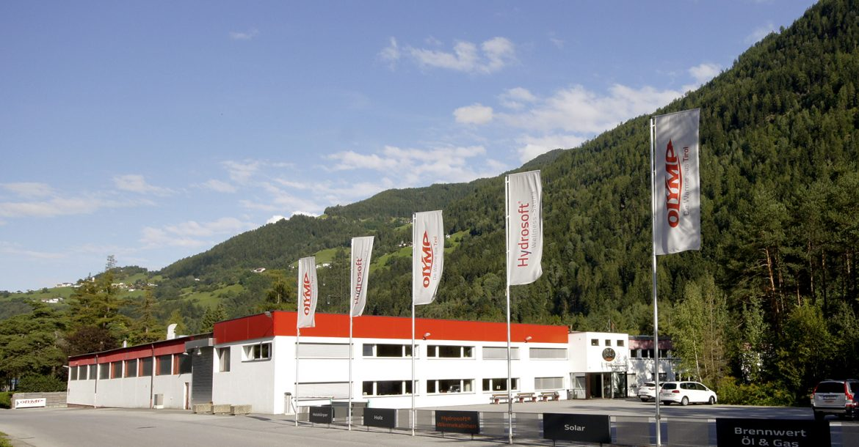 Olymp Werk GmbH Hauptsitz in Ötztal-Bahnhof